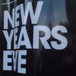 "New Year Resolutions | Notice reads ""New Year's Eve"""