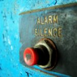 Over-reacting | A big red Alarm button