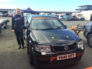 Personal best | Ashleigh ready to drive a rally car
