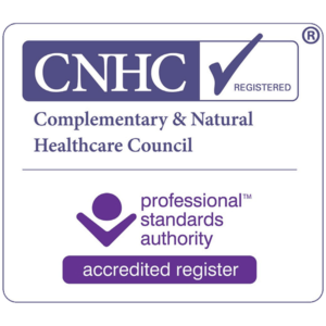 Registered with the CNHC for Reiki